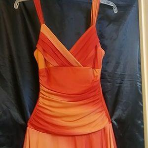 Three pink hearts trixxi dress size talla /S